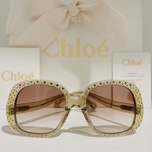 Chloe Sunglasses Style CE755SR color 210 Brown